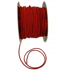 Elastiksnor 5mm, rød.
