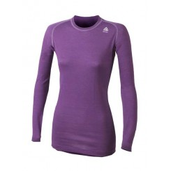 Lightwool woman' long sleeve shirt (crew neck)