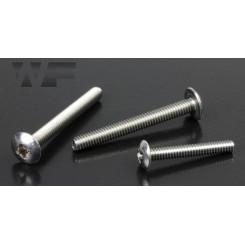 Skrue til pedaler, A2, 1/4-20 x 30mm